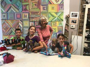 Studio Fabric Animals Workshop